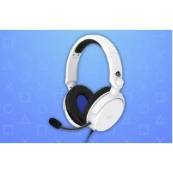 4Gamers Licenciado PRO4-50s Stereo Gaming Headset Branco Para PS4/PS5