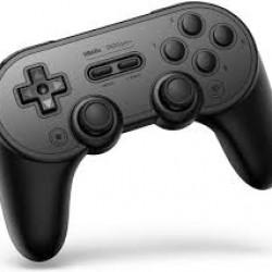8Bitdo SN30 Pro+ Gamepad Black para Nintendo Switch