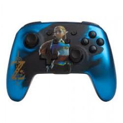 Comando Chrome Blue Zelda PowerA- Nintendo Switch