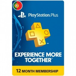 PSN PLUS Portugal -  12 meses | Código Digital (Envio por Email)