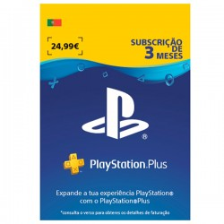 PSN PLUS Portugal -  3 meses | Código Digital (Envio por Email)