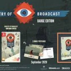 Ministry of Broadcast Badge Collector's Edition - Nintendo Switch