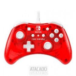 Comando com Fios PDP Rock Candy Vermelho - Nintendo Switch