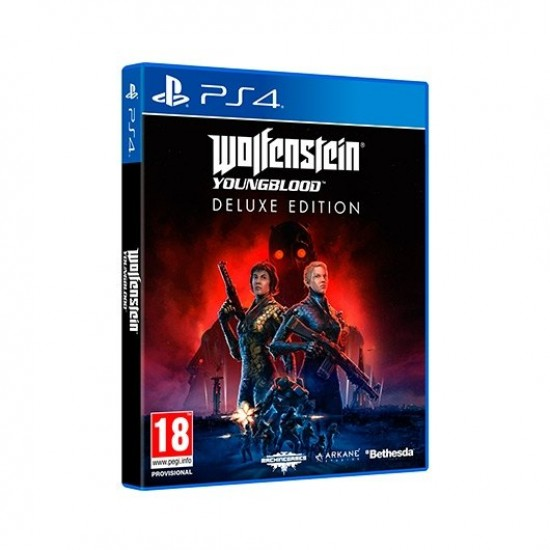WOLFENSTEIN YOUNGBLOOD DELUXE - PS4 - Consolas - VideoJogo.pt
